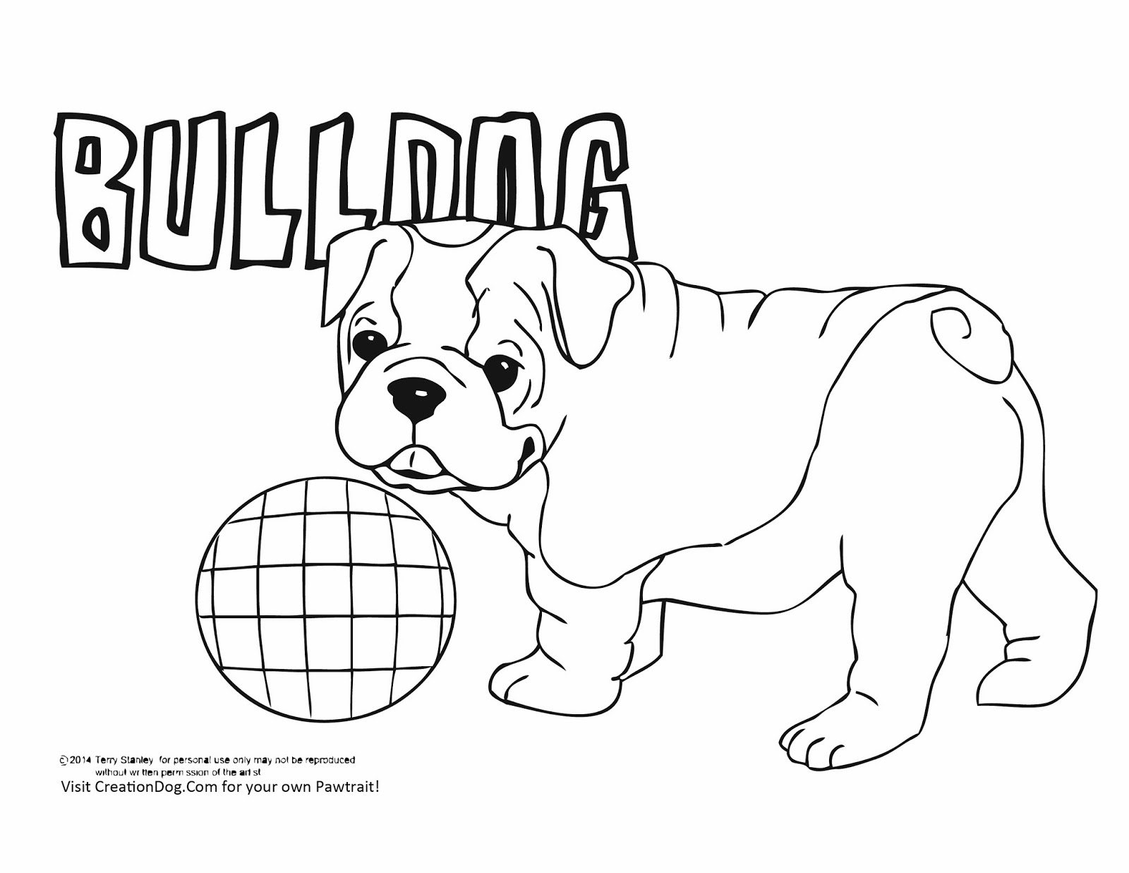 creation dog free coloring pages from creation dog