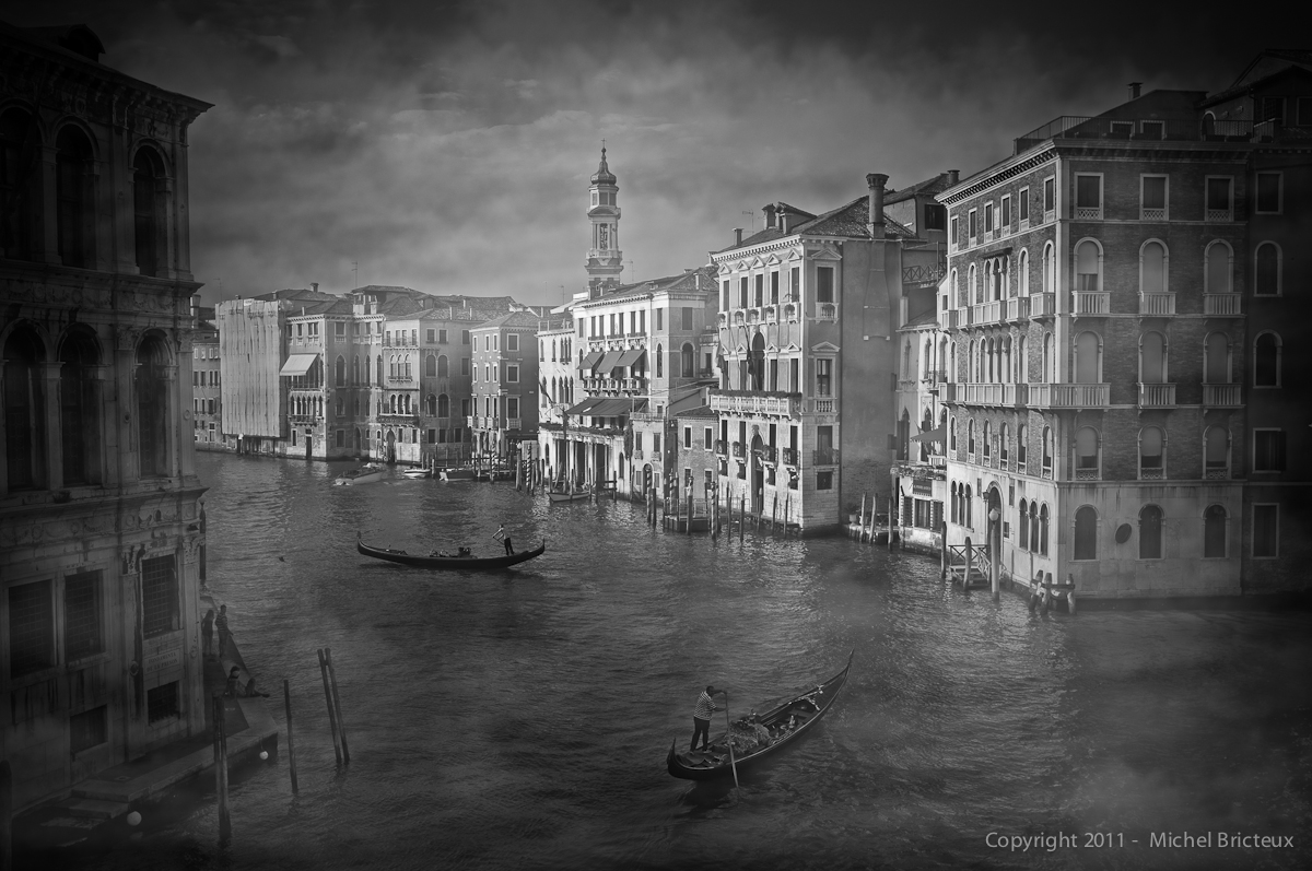 Fujifilm X100 : Fog on the Gran Canale II