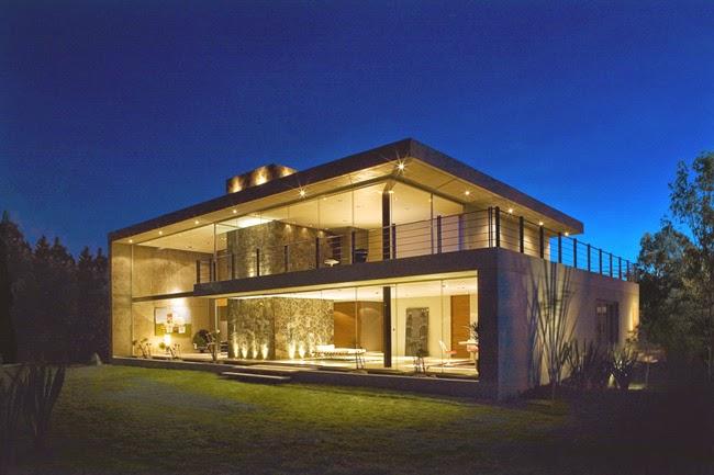Casas minimalistas y modernas casa mexicana minimalista for Casa minimalista vidriada