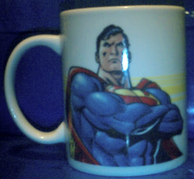 Superman 2006 mug #1 side b