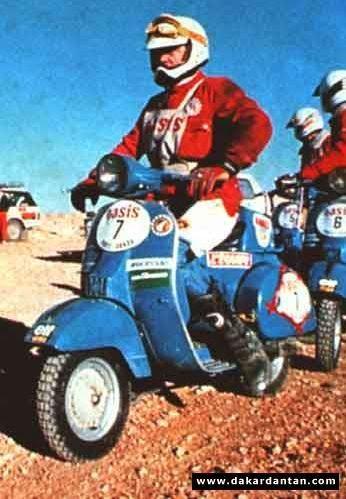 Vespa Paris Dakar 06