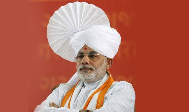 Narender Modi in traditional dress