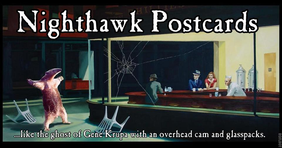 Nighthawk Postcards