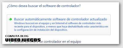 Buscar automáticamente software de controlador actualizado