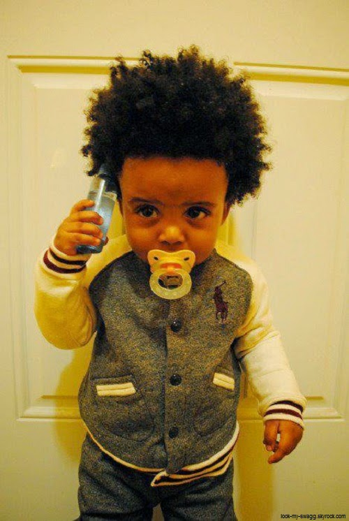 Magnifique bébé garçon métisse