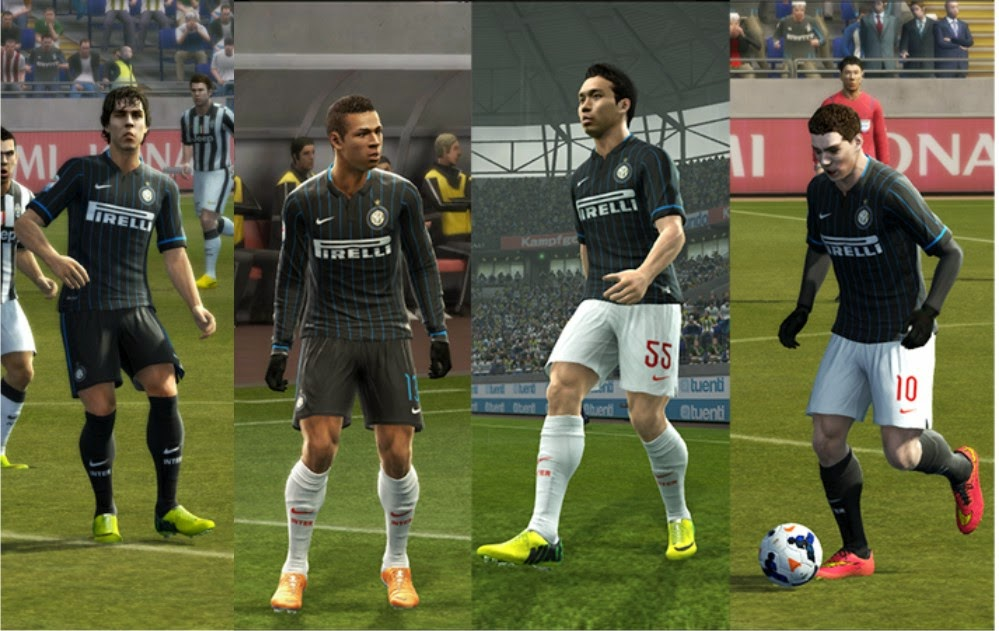 PES 2013  Inter Milan GDB 2014-2015 by Vulcanzero