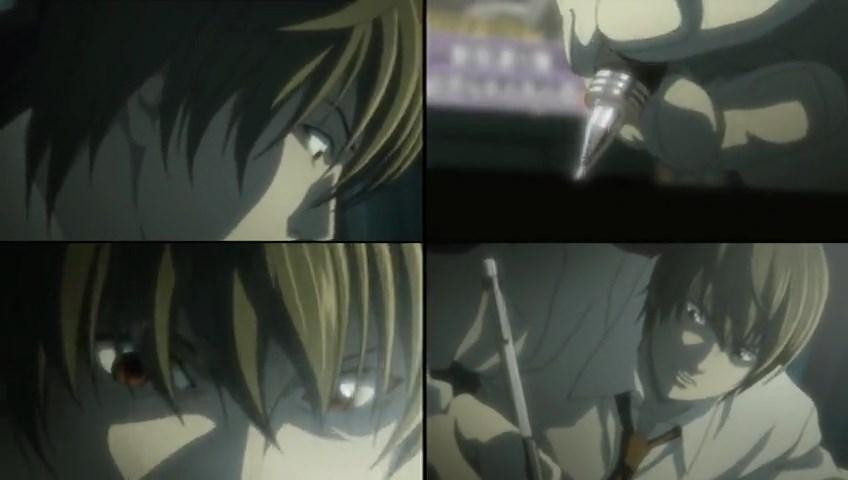 Light Yagami Wallpaper Death Note Scene