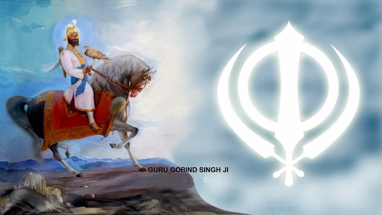 Good   Wallpaper Horse Warrior - gobind-guru-singh-ji-158783  2018_154624.jpg