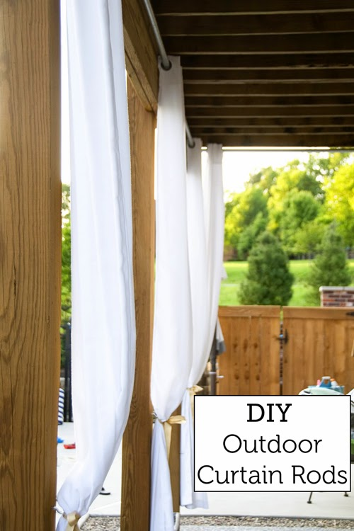 Curtain Track Home Depot Cheap DIY Curtain Rods