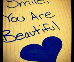 your're beautiful