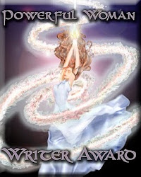 Powerful Woman Writer Award from A Storybook World!