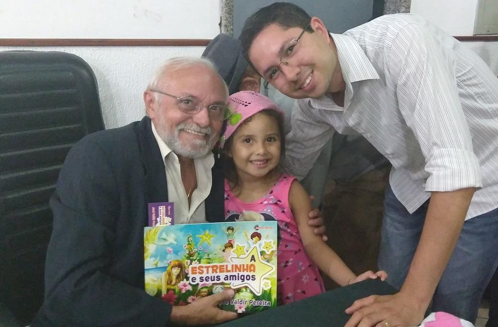 Lançamento do livro infantil A Estrelinha e seus amigos