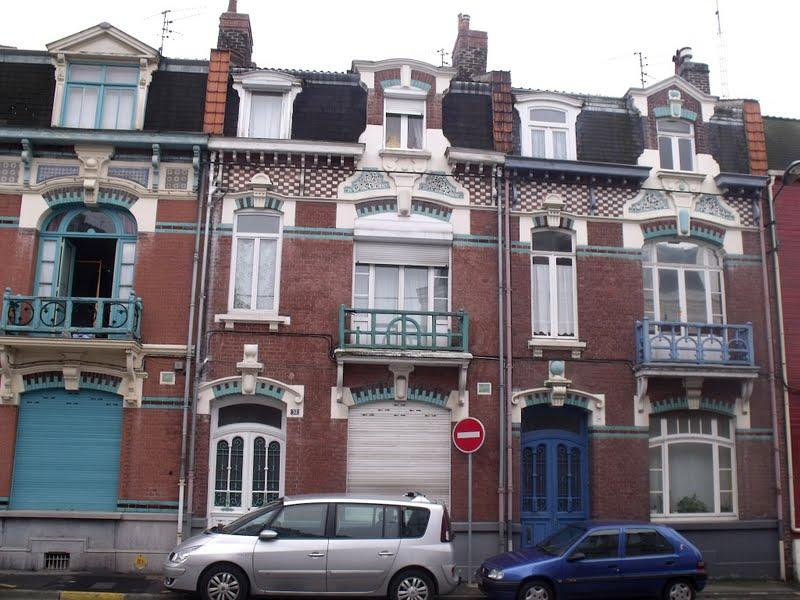 Lille, l\'art nouveau et l\'art déco: Lille Pellevoisin, rue Blanche