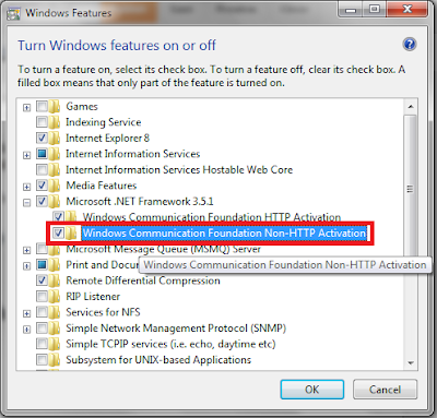 how to make a port listen in windows 2012