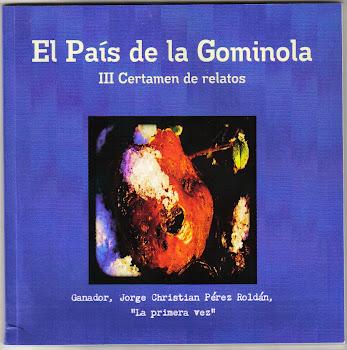 """Mi relato """"Hoy sí"""" en el libro de los finalistas del III certamen de relatos El País de la Gominola"""