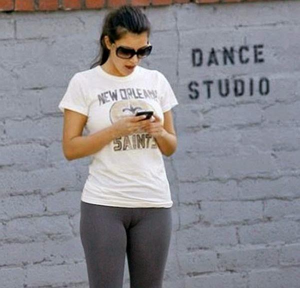Kim Kardashian Cameltoe Leaked Photos
