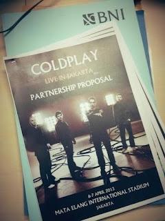 Coldplay Konser di Jakarta 2013 ?