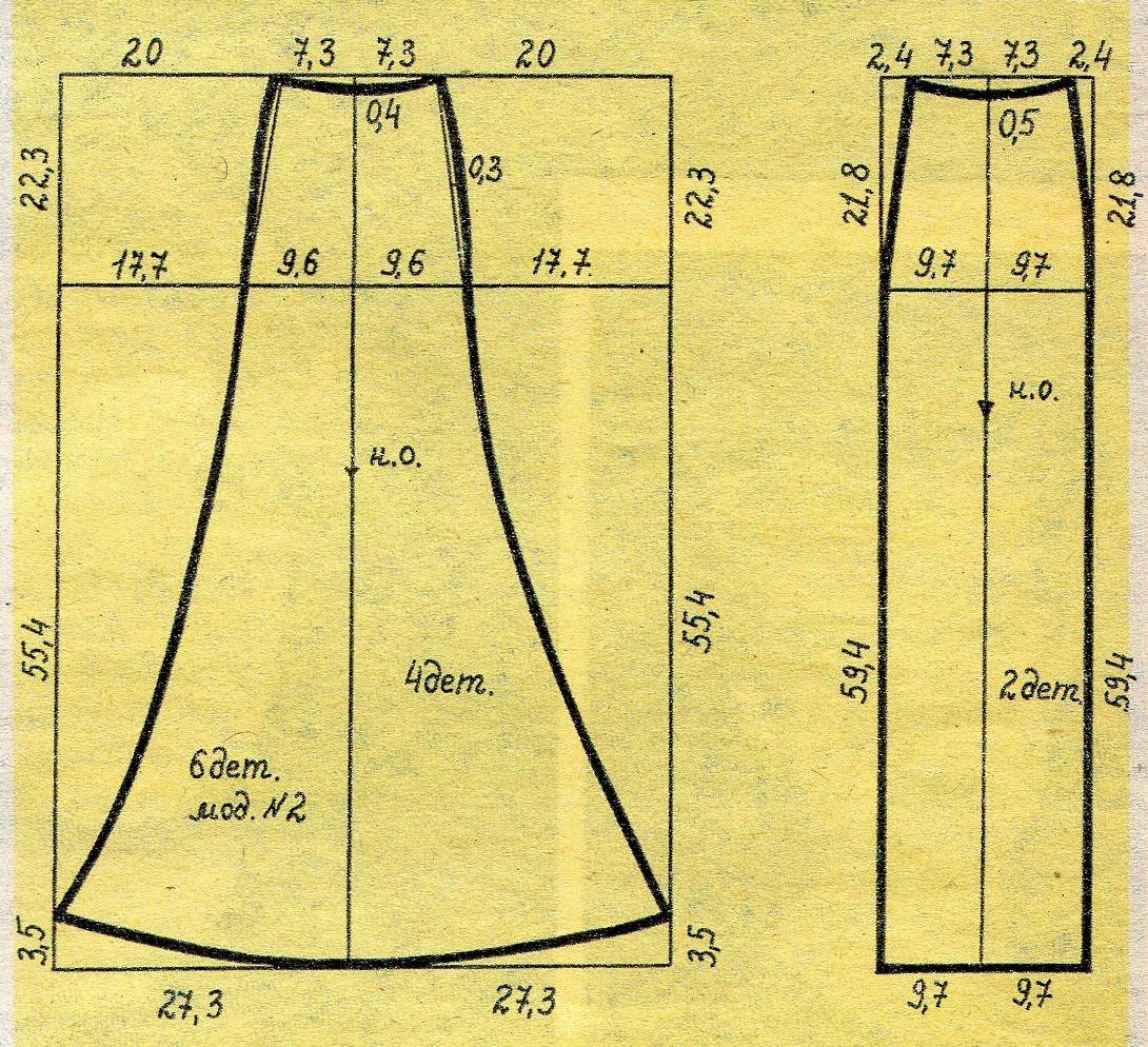 Выкройки юбок: для начинающих, карандаш, прямые, годе - Porrivan 23