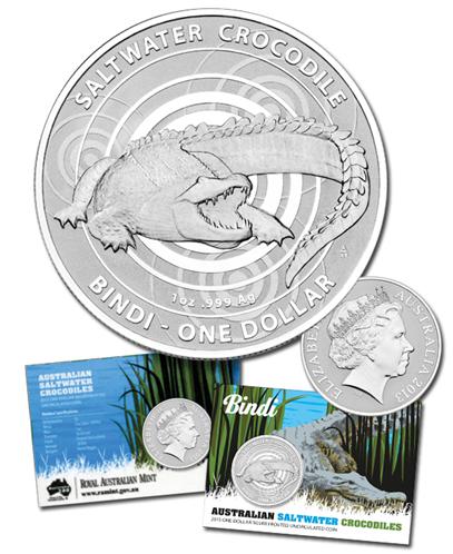 2012 $1 TREE-KANGAROO Uncirculated Coin Animals of the Zoo  Very SCARCE