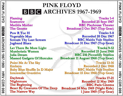 Pink Floyd - BBC Archives - 1967-1969