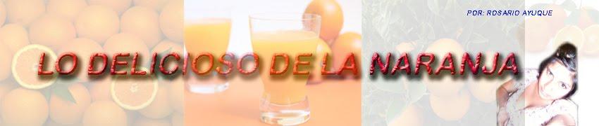 Lo delicioso de la Naranja