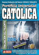 Examen Católica 2016-1