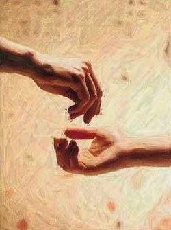 sedekah,memberi,tangan diatas