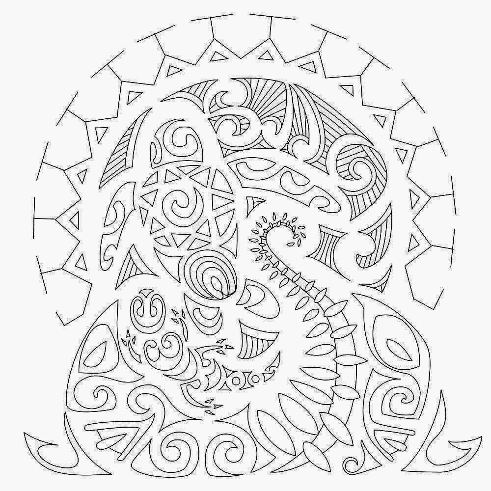 Tribal Half Sleeve Turtle Sea Life Tattoo Stencil