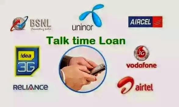 Talktime loan