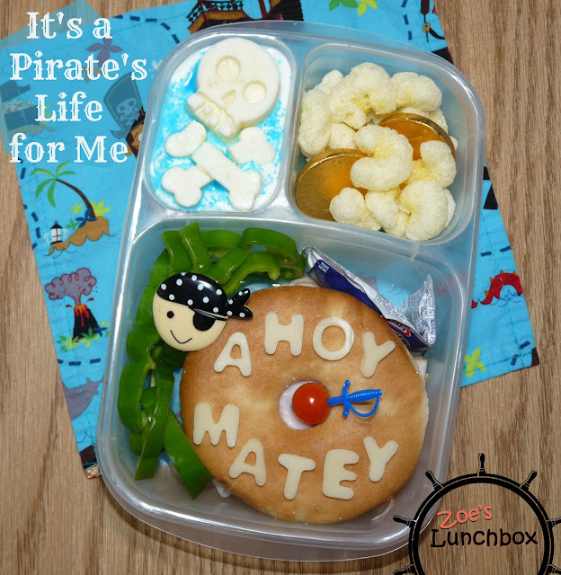 Pirate Easylunchboxes Bento
