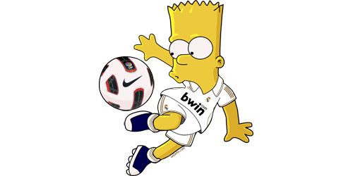 Download Bart Simpson Real Madrid Wallpapers Real Madrid Wallpapers ...