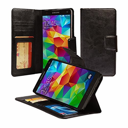 ACEABOVE [Stand Feature] Galaxy Note 4 Wallet Case
