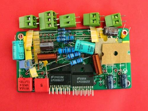 LM3886TF stereo amplifier board DIY kit for HIFI