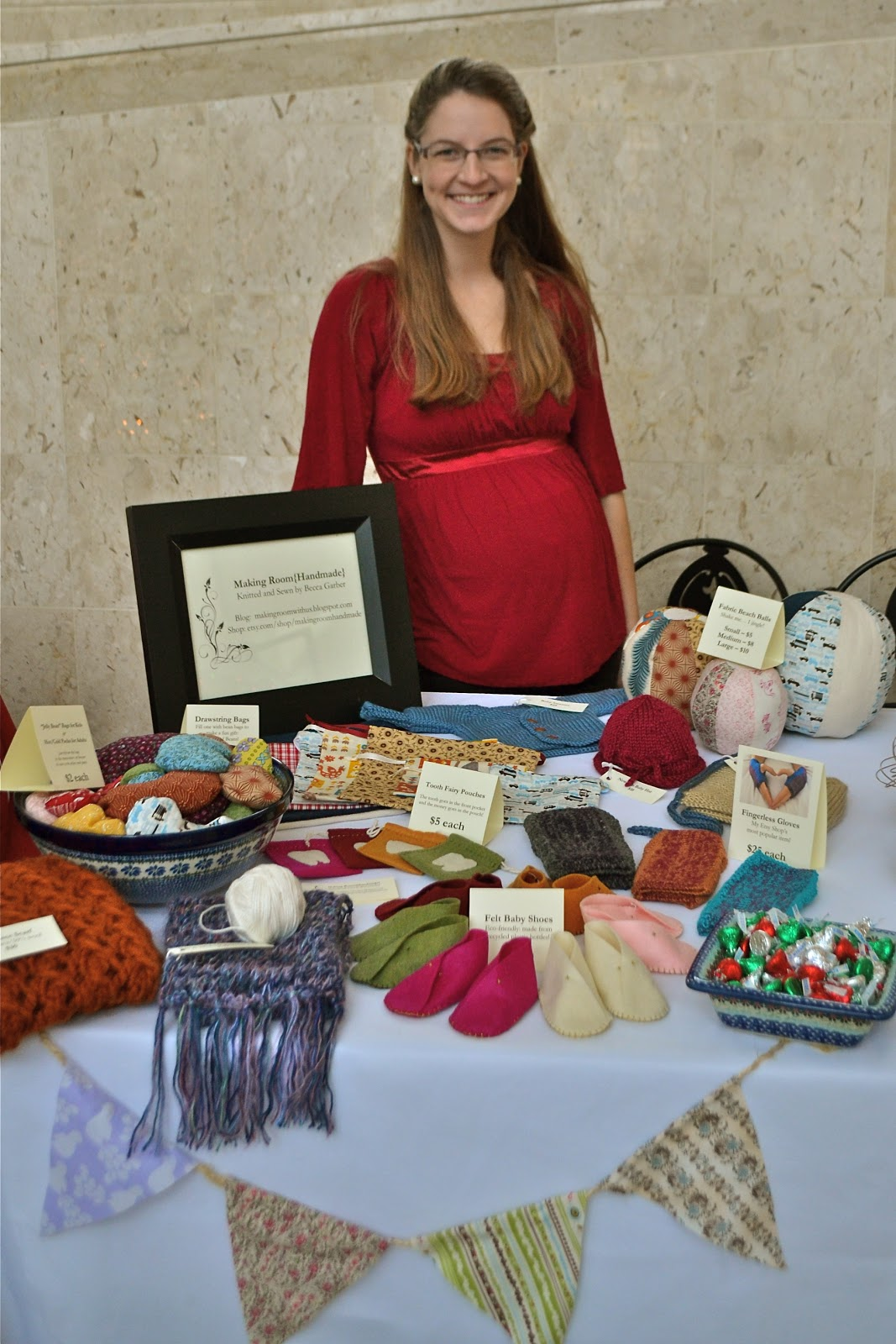 My first craft fair becca garber for Sewing to sell at craft fairs