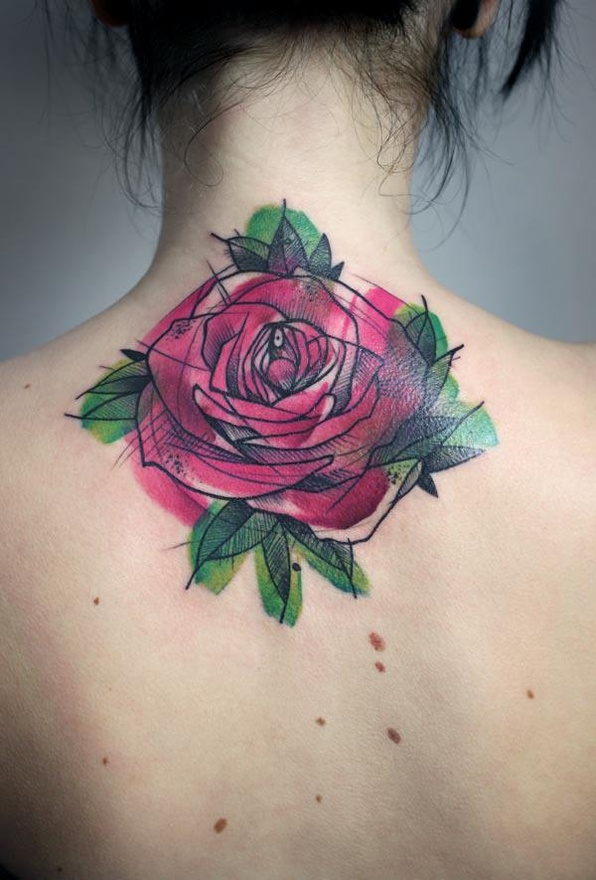 Katy clouds tattoo inspiration for Abstract rose tattoo