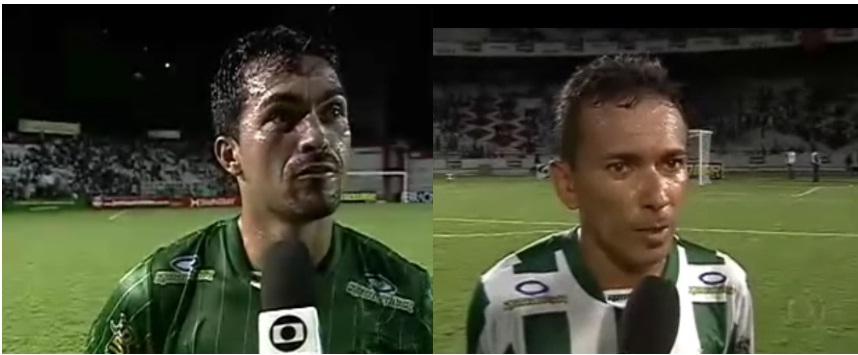 Alexandre Oliveira recuperado e Batata em recuperação