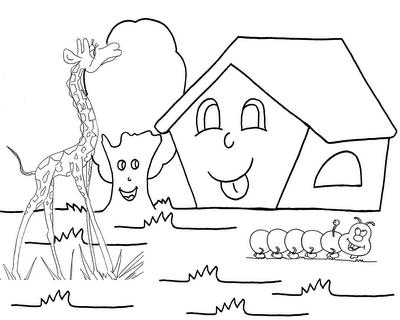 Desenho como desenhar Esses Casas Linda pintar e colorir