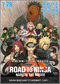 Capa Baixar Filme Naruto: O Filme 6   AVI (Road to Ninja: Naruto the Movie)   Torrent Baixaki Download
