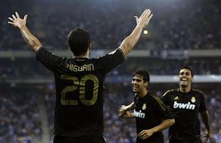 Real Madrid goleó a domicilio al Espanyol