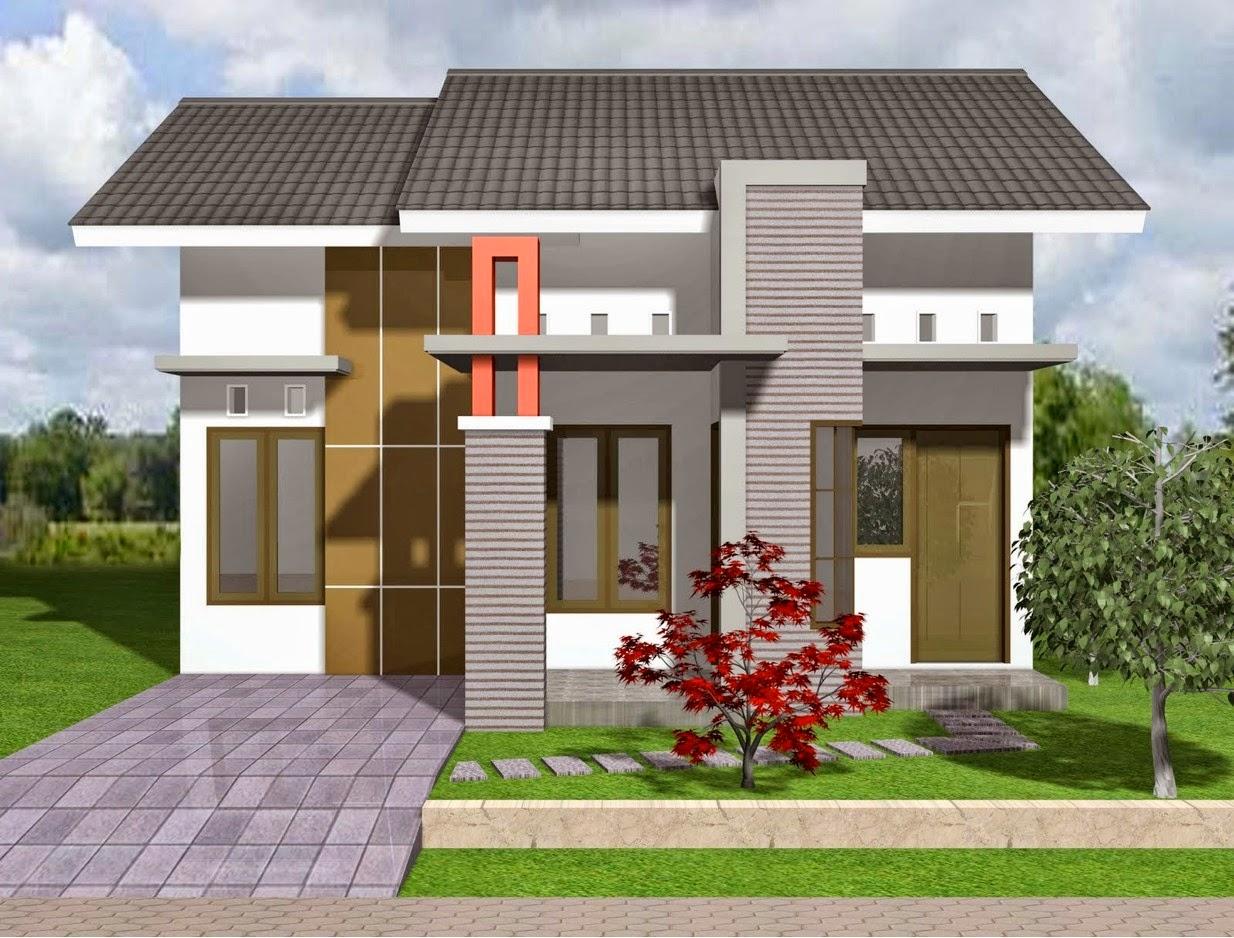 rumah minimalis warna