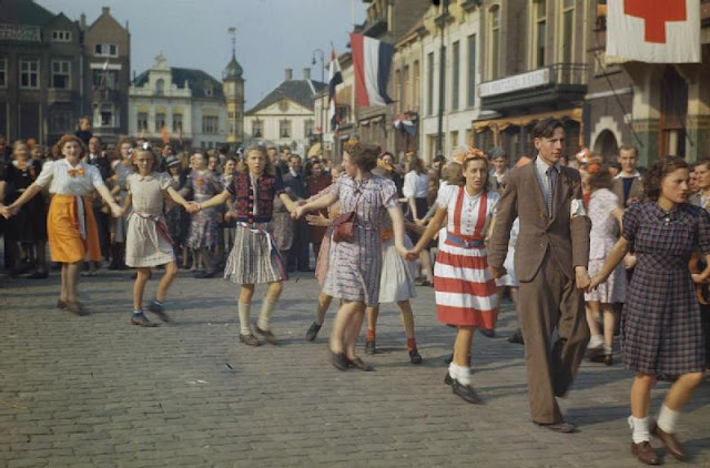 liberation netherlands When it reached the western netherlands,  since their liberation,  the liberation of holland was a cause for celebration for both the dutch population and.