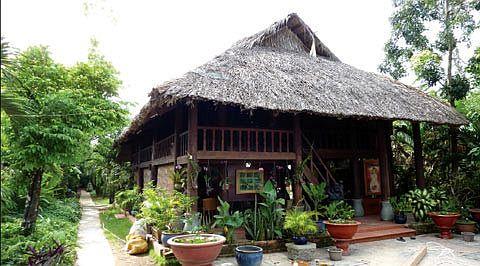 Kiến trúc nhà gỗ vùng Nam Bộ