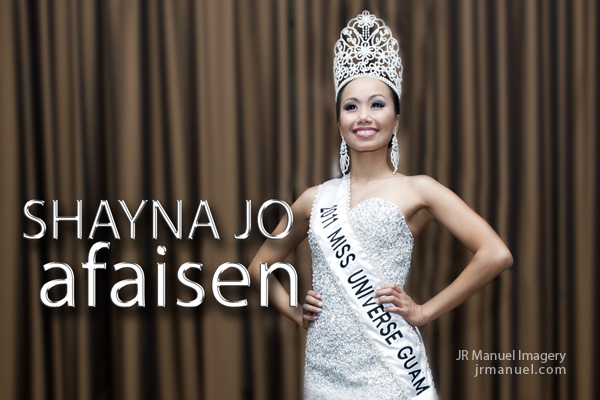 Shayna Jo Afaisen is the newly crowned Miss Universe Guam 2011