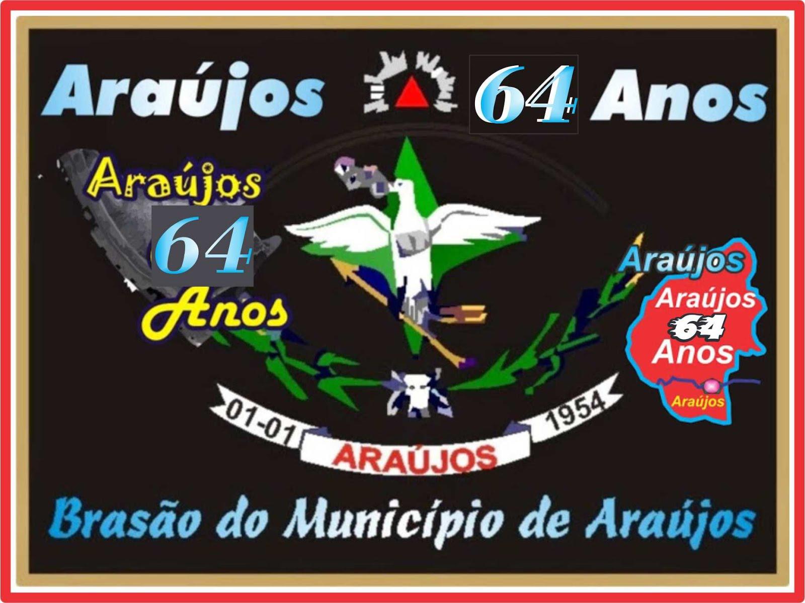 Araújos 64 Anos - 1954 á 2018