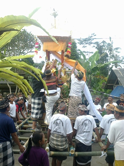Ngaben (cremation) in Bali