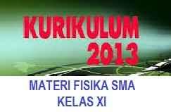 Kumpulan Materi Fisika SMA Kelas XI Kurikulum 2013