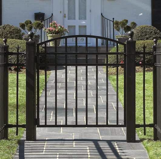 gambar pagar besi minimalis model baru