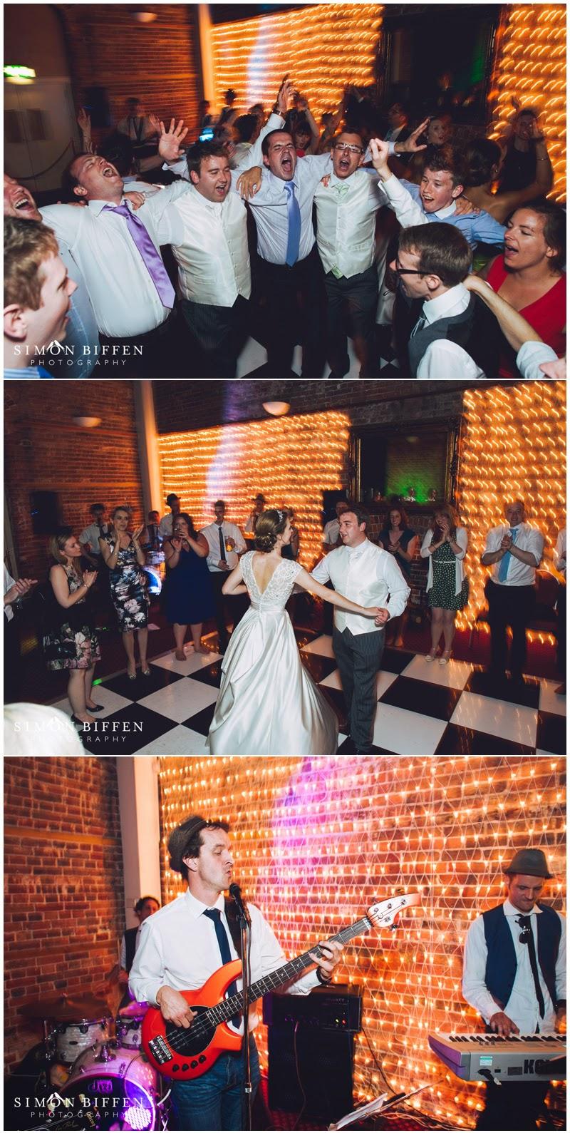 Wedding reception at Highcliffe Castle