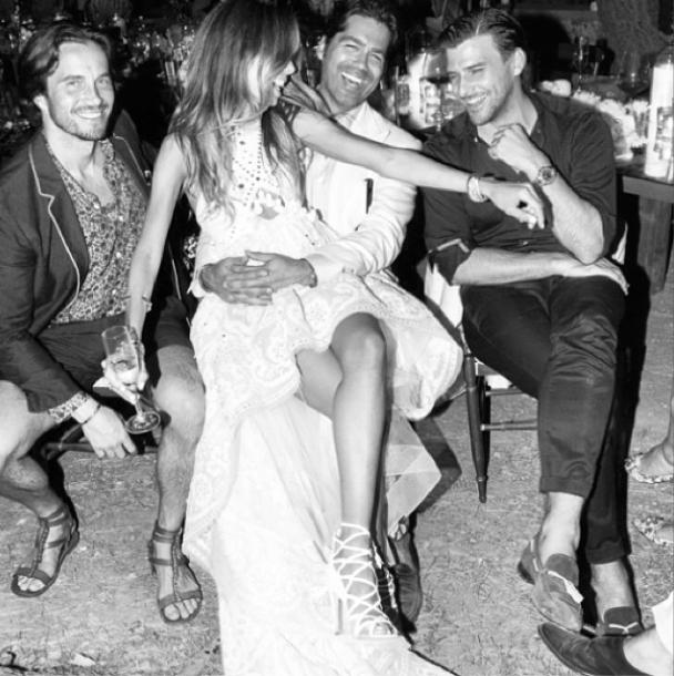 Erica Pelosini & Louis Leeman capri wedding