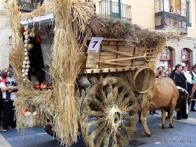 Carros Engalanados Fiestas San Froilan, Leon